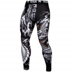 Venum Dragon's Flight Spats - Black/White