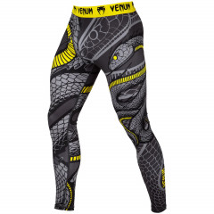 Venum Snaker Spats - Black/Yellow