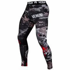 Venum Zombie Return Spats - Black