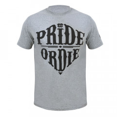 T-shirt Pride or Die Reckless - Gris