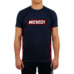 T-shirt Wicked One Rocket - Bleu marine/Rouge