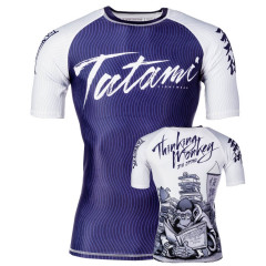 Tatami Fightwear Rashguard  Thinker Monkey - Short sleeves