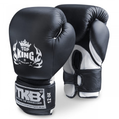 Double Velcro Boxing Gloves Air - Black/White