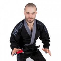 Kimono Jiu-Jitsu Tatami FW Estilo 5.0 Premier Triple Threat - Noir