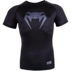 Venum Contender 3.0 Compression T-shirt - Short Sleeves - Black/Grey