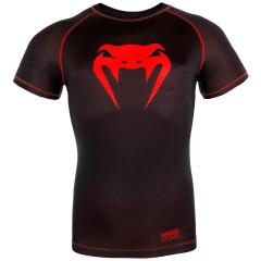 Venum Contender 3.0 Compression T-shirt - Short Sleeves - Black/Red