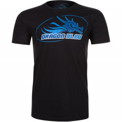 T-shirt Dragon Bleu - Black