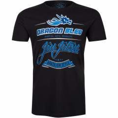 T-shirt Dragon Bleu Jiu Jitsu - Black