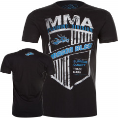 T-shirt MMA Dragon Bleu - Black