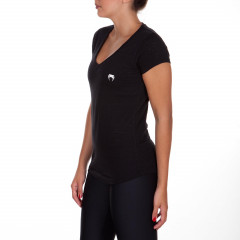 Venum Essential V Neck T-shirt - Black