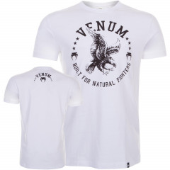 Venum Natural Fighter - Eagle - T-shirt - White