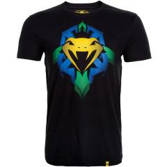 Venum Snake Shield T-Shirt - Black