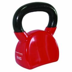 Tunturi Kettlebell vinyl 10 kg - Red