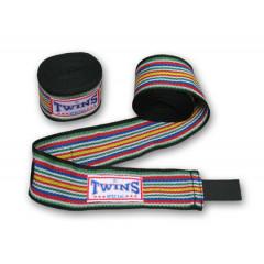 Bandes de boxe Twins Coton Premium - 5M-Black