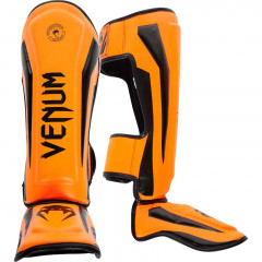 Venum Elite Standup Shinguards - Orange