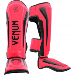 Venum Elite Standup Shinguards - Pink