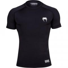 Venum Contender 2 Compression T-shirt - Short Sleeves - Black/Ice