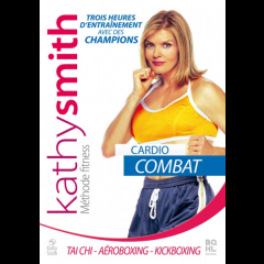 "DVD Kathy Smith ""Cardio Combat"""