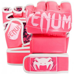Venum Undisputed 2.0 MMA Gloves - Pink - PU LEATHER