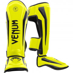 Venum Elite Standup Shinguards - Yellow