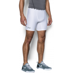 Short de compression HeatGear Armour Mid - Blanc