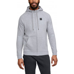 Sweat à capuche Under Armour Rival Fleece Fz - Gris