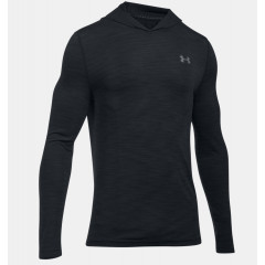 Sweatshirt à capuche Under Armour Threadborne Seamless Fleece - Noir