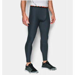 Legging Under Armour HeatGear® pour homme - Gris/Orange