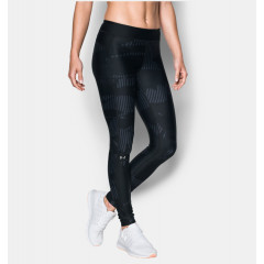 Leggings Imprimé Femme Under Armour HeatGear - Noir