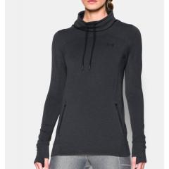 Sweatshirt Femme Under Armour Featherweight - Noir