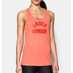 Débardeur Femme Under Armour Threadborne - Orange Chiné