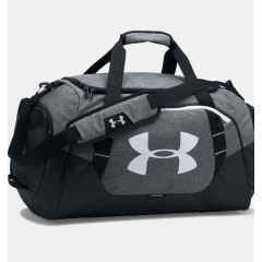Sac de sport Under Armour Undeniable 3.0 Medium - 55 Litres-Gris/Noir/Blanc