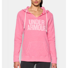 Sweatshirt Femme Under Armour Favorite Fleece - Rose