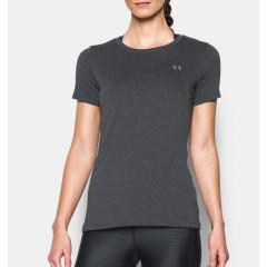 T-shirt Femme UA Heatgear® Armour - Gris
