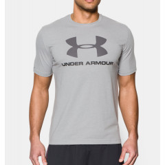 T-Shirt Under Armour Sportstyle Logo - Gris