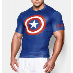 T-shirt compression Under Armour Alter Ego Captain America