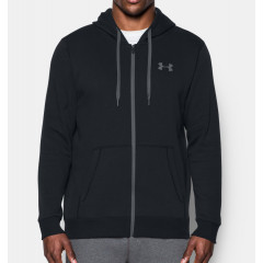 Sweat à capuche Under Armour Rival Fitted - Noir