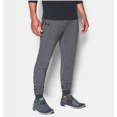Pantalon de jogging Under Armour Threadborne Stacked - Gris