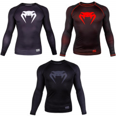 Pack Venum Contender 3.0 Compression T-Shirt - Long Sleeves