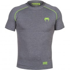 Venum Contender 2.0 Compression T-shirt - Short Sleeves - Heather Grey
