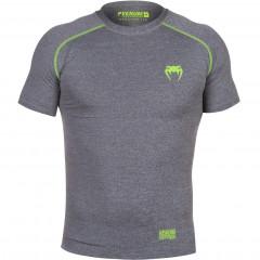 Venum Contender 2.0 Compression T-shirt - Short Sleeves - Heather Grey