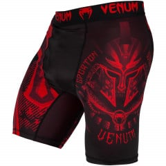 Venum Gladiator 3.0 Red Devil Vale Tudo Shorts - Black/Red