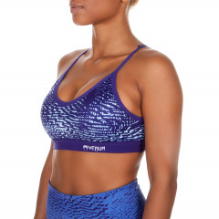 Venum Dune Sport Bra - Dark Purple/Light Latigo Bay