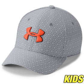 Casquette Enfant Blitzing 3.0 Under Armour - Gris