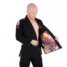 Kimono de JJB Tatami Fightwear - Japan Series - Maple Koi - Noir