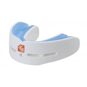 Protège-dents Shock Doctor Double Gel Nano - Blanc