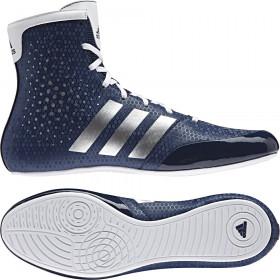 Chaussures de boxe KO Legend 16.2 New Tige MID Bleu/Gris