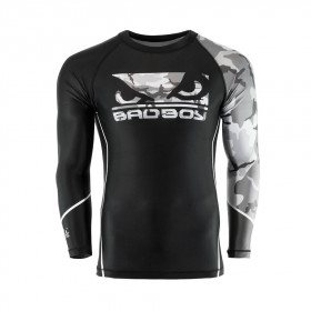 Rashguard Bad Boy Soldier - Noir/Gris