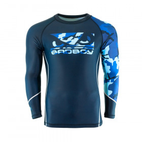 Rashguard Bad Boy Soldier - Bleu