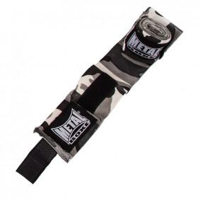 Bandes de boxe Metal Boxe - Camo Gris - 4.5 mètres